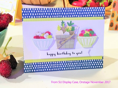 Tutti Frutti Card from new Suite in 2018 Stampin' Up Occasions Catalog at www.crafterinspired.com
