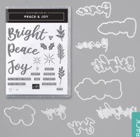 Peace and Joy Bundle Add On to Santa's Wow Workshop at crafter inspired.com/Santa
