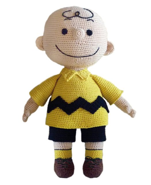 Crochet pattern for Charlie Brown doll