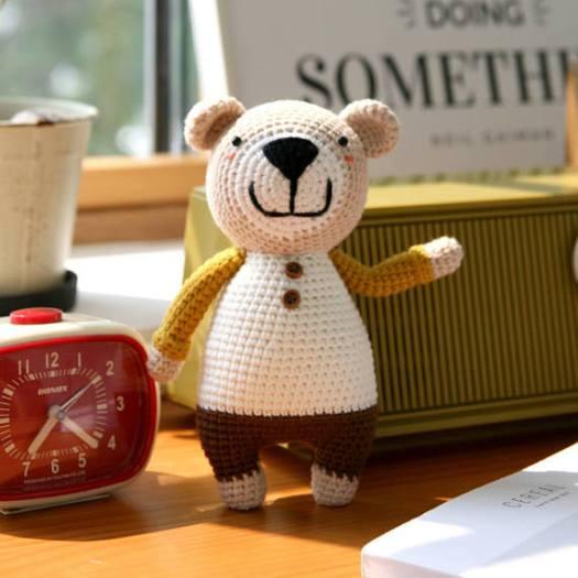 crochet pattern 3-in-1 donkey bear dog