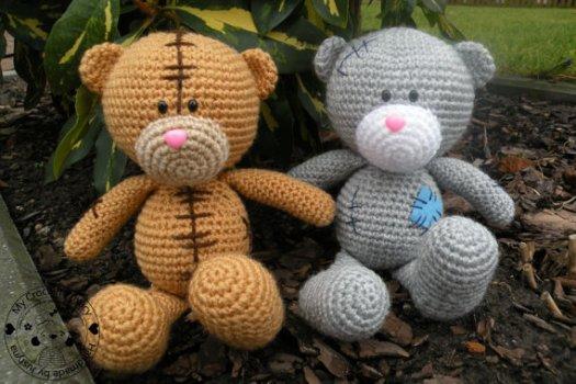 Classic Teddy Bear Crochet Pattern, Amigurumi Bear, Darling Jadore | 350x525