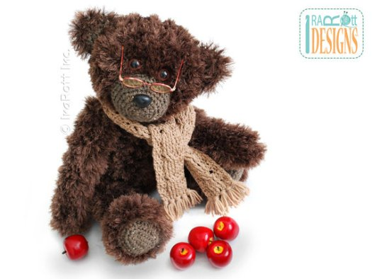 Crochet pattern for Teddy Bear Elvis Balthazar the Third PDF Crochet Pattern with Instant Download