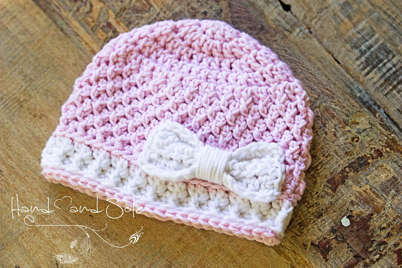 How To Knit Baby Hat With Bow Hunting