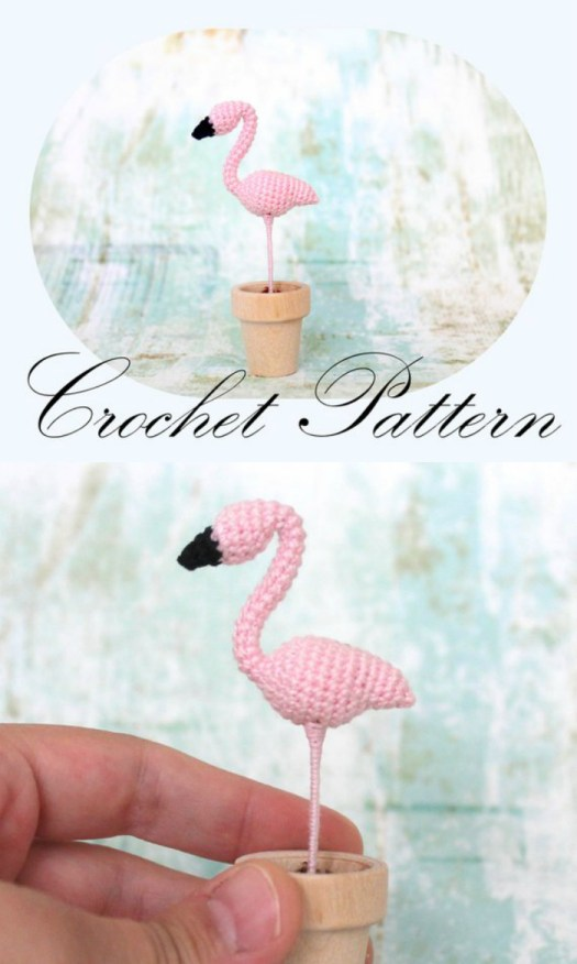 Crocheted Flamingo Patterns