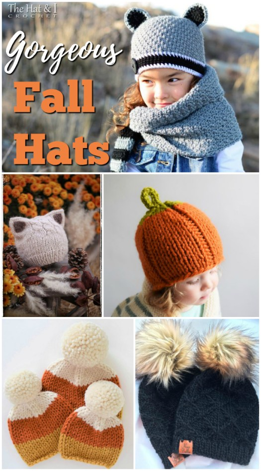 I just can't pick one of these gorgeous hats to make for fall! So adorable! Time to get knitting! #craftevangelist