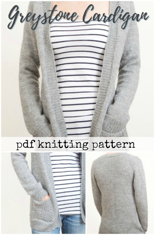 This sweet long cardigan knitting pattern HAS POCKETS! What a sweet looking pattern! I may need another cardigan... #knitting #pattern #knit sweater #pockets #yarn #crafts #craftevangelist
