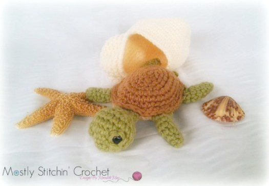 Baby Knitting Patterns Amigurumi Crochet Sea Creature Animal Toy ... | 363x525