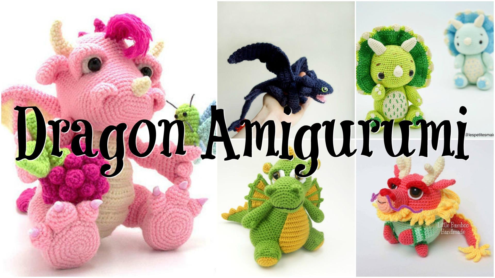 Amigurumi Dragon Patterns | 1080x1920