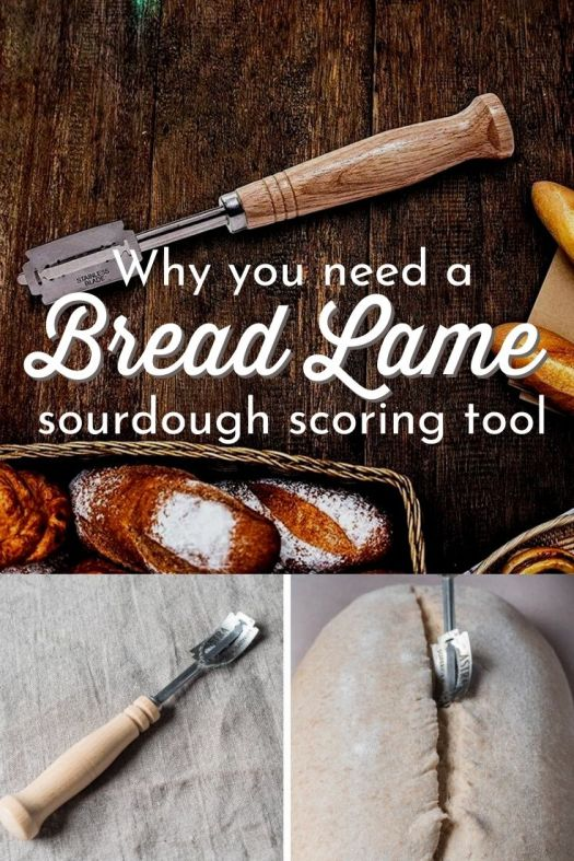 A Bread Lame! That's what I need to score beautiful slashes on my sourdough bread instead of a knife! Then I can make those fancy sourdough designs! #sourdoughbread #breadlame #sourdoughobsession #sourdoughscoringtool #sourdoughslash #sourdoughknife #sourdoughblade #craftevangelist