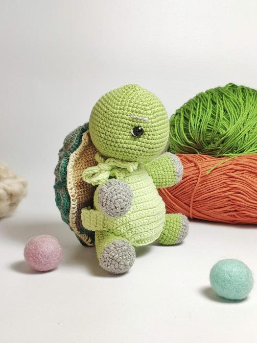 Soft & Dreamy Turtle amigurumi pattern - Amigurumi Today | 700x525