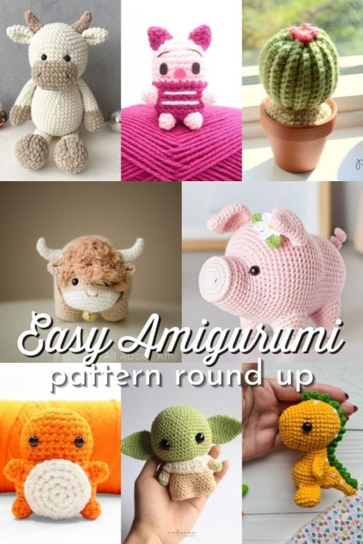 10 Cute and Easy Crocheted Amigurumi Patterns and Kits for you to get started in making your very own crocheted stuffed toys! These perfect little plushies make great last-minute gift ideas for children and adults alike! #patterns #amigurumi #crochet #CrochetPatterns #AmigurumiPatterns #PatternRoundUp #CraftEvangelist