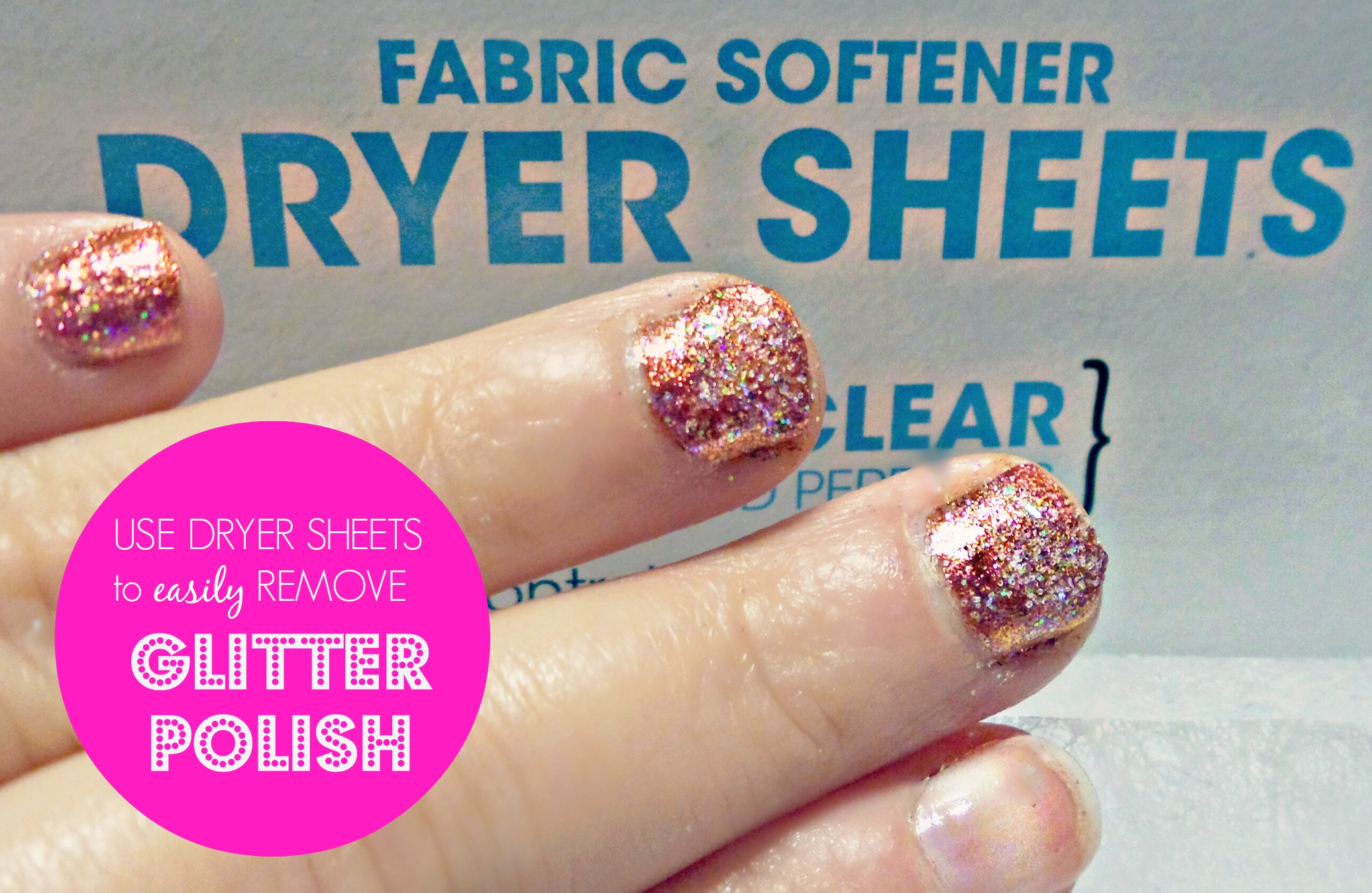 Easily Remove Glitter Nail Polish Craftforest Com