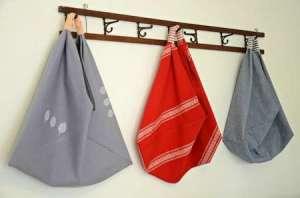 make it local origami bag