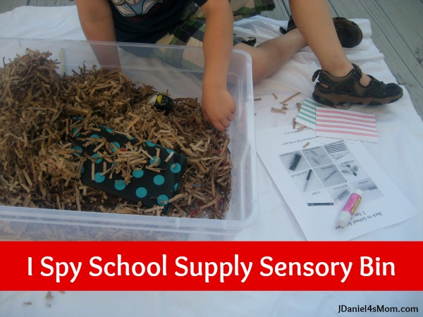 {Dig Into Treasure Hunting} Back to School Learning Bins - JDaniel4's Mom