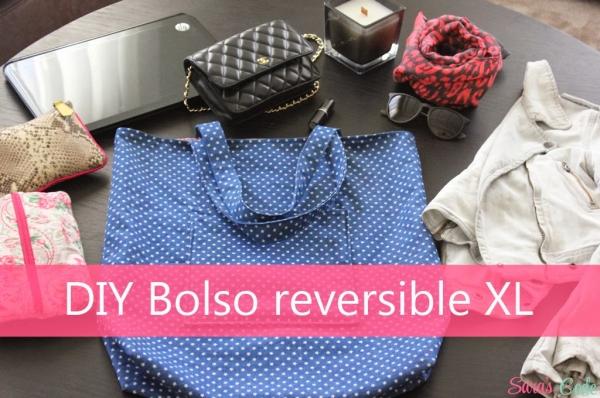 DIY Tote Bag Bolso reversible