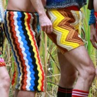Crochet Shorts for Men