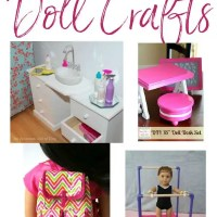 """9 Crafts For Your 18"""" American Girl Dolls"""