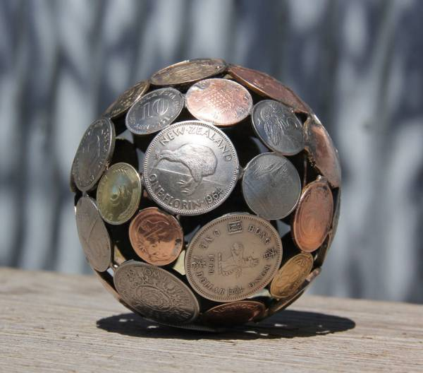 coin art projects