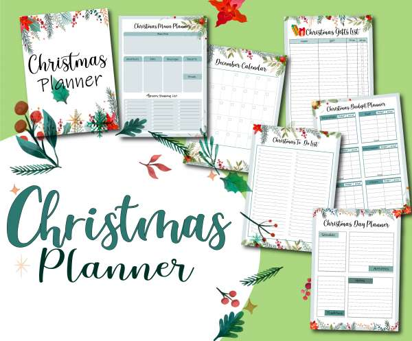CraftGossip Christmas Planner