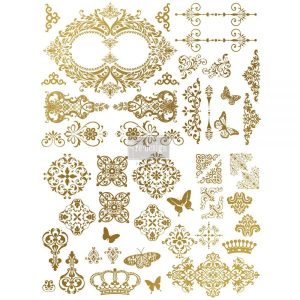 Redesign Gold Transfer - Gilded Baroque Scrollwork Redesign Gold Transfer – Gilded Baroque Scrollwork 655350635695 600x600 1 craft impression craft impression 655350635695 600x600 1