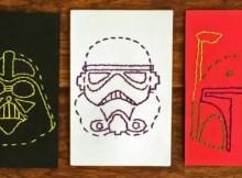 Star Wars Stitch Cards