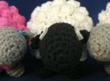 Totally adorable. Free crochet pattern for an amigurumi crochet sheep or lamb.