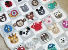 Crochet pattern. Baby blanket crochet pattern with lots of different animals you can add. Add them all or just your favorites :-) Love it so much,