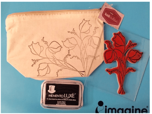 Fabric Purses Designed Your Own Way Using Chameleon Pens