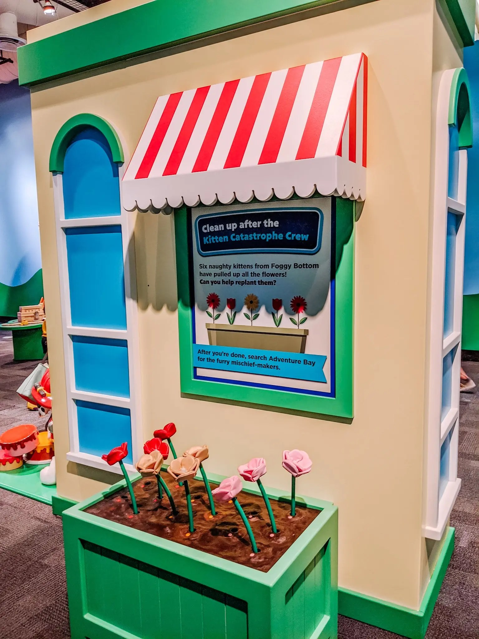 temporary exhibit at the Glazer Children's Museum