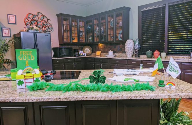 St. Patrick's Day Crafts at Fox 13 News studio