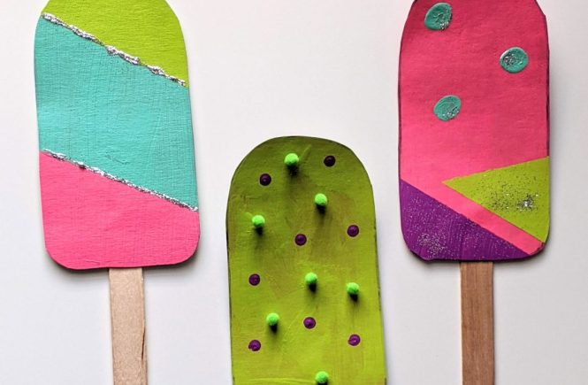 popsicle craft for kids