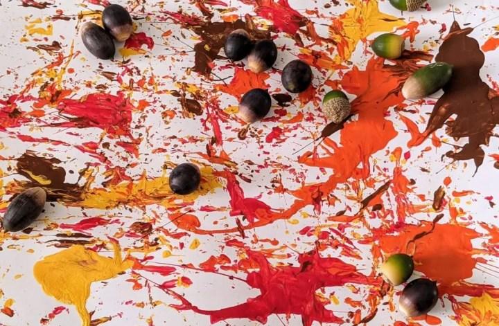 acorn art for kids
