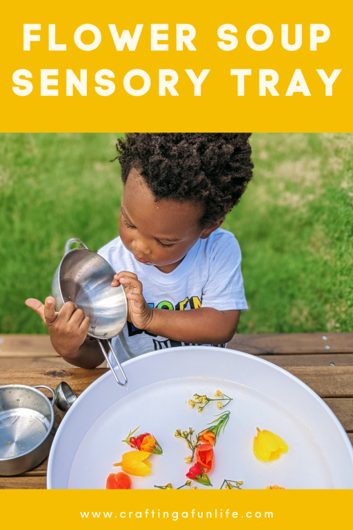flower soup sensory activity for kids
