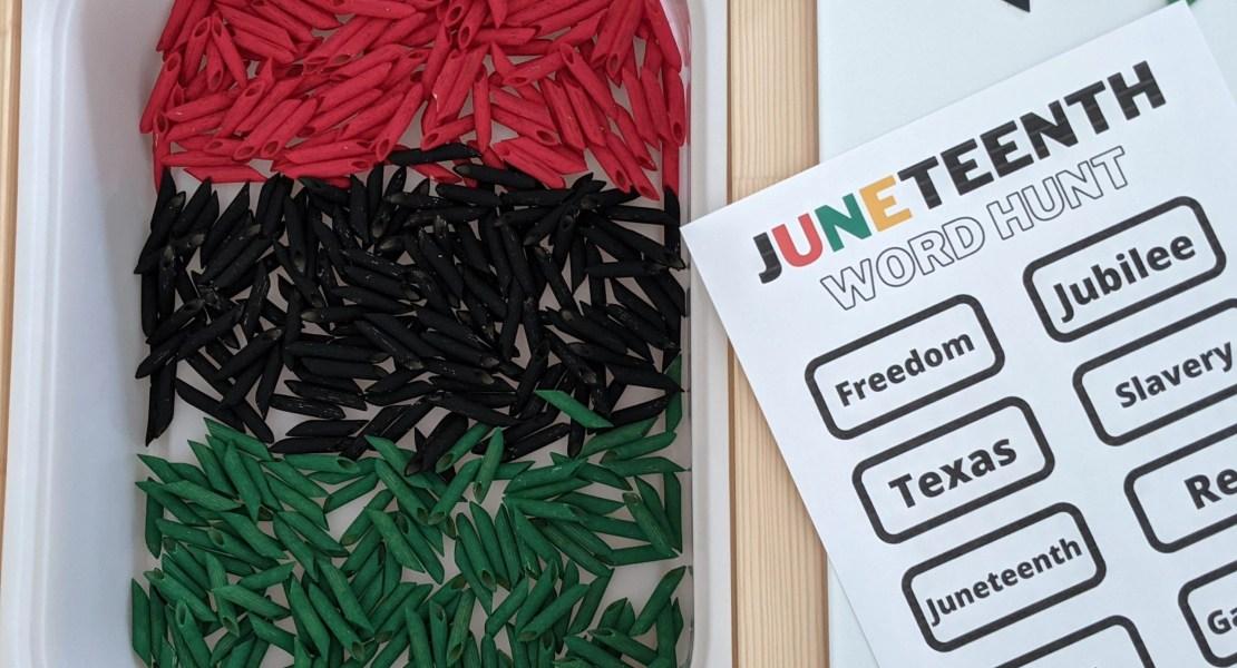 Juneteenth word hunt