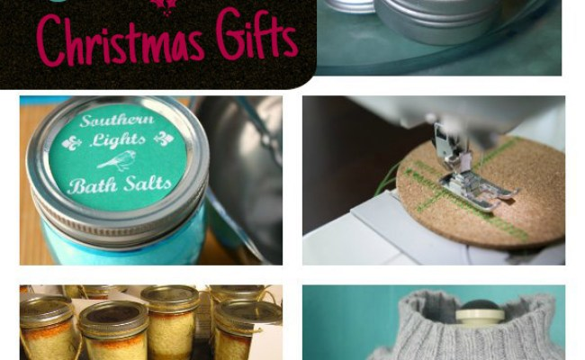 9 Last Minute Christmas Gifts To Make This Weekend