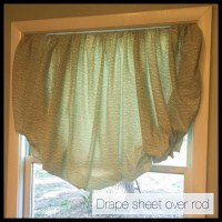 DIY Balloon Curtains from a Fitted Sheet - Crafting a ...