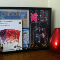 An Olympics/London Shadowbox