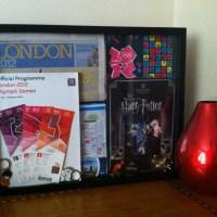 An Olympics/London Shadowbox