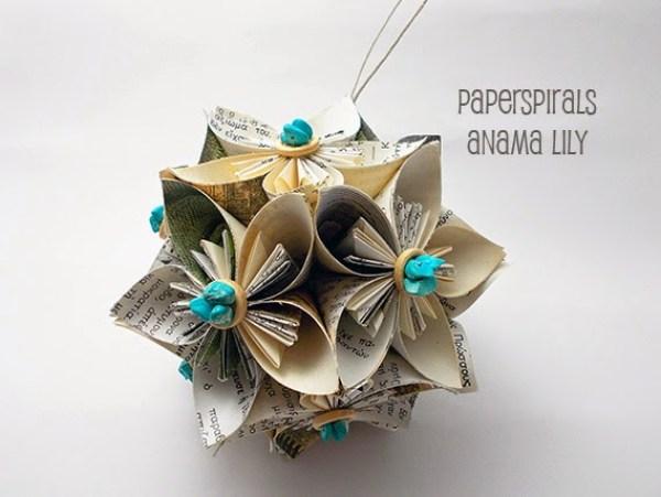 flor kusudama origami
