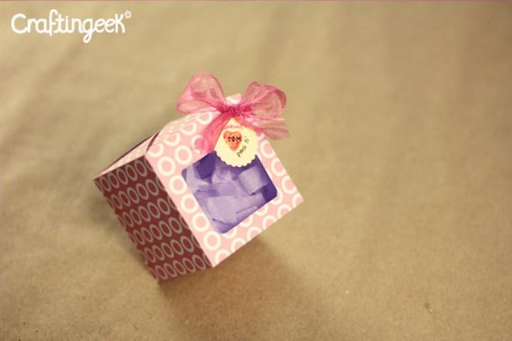 Como hacer una caja para regalo