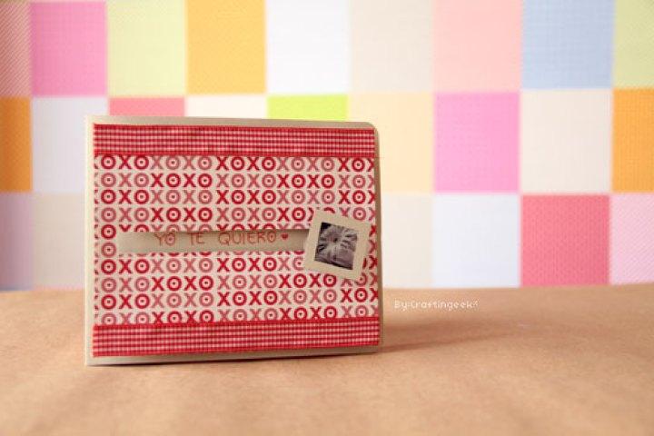 regalos creativos: tarjeta deslizable y más manualidades para tu novio
