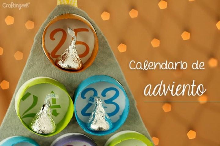 calendario para navidad o adviento