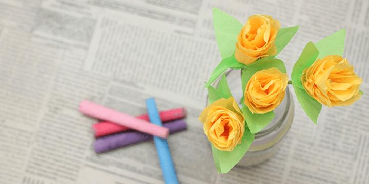 Haz un florero con sal para decorar tu mesa. ¡Es de las manualidades para niños favoritas! / Make your own colored salt