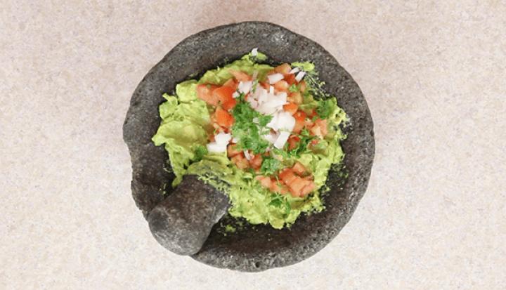 como preparar guacamole paso a paso
