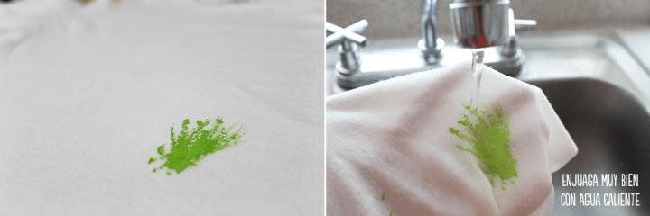 5 como quitar la pintura de la ropa