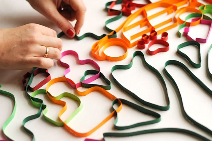 8_Yulia arte Quilling papel