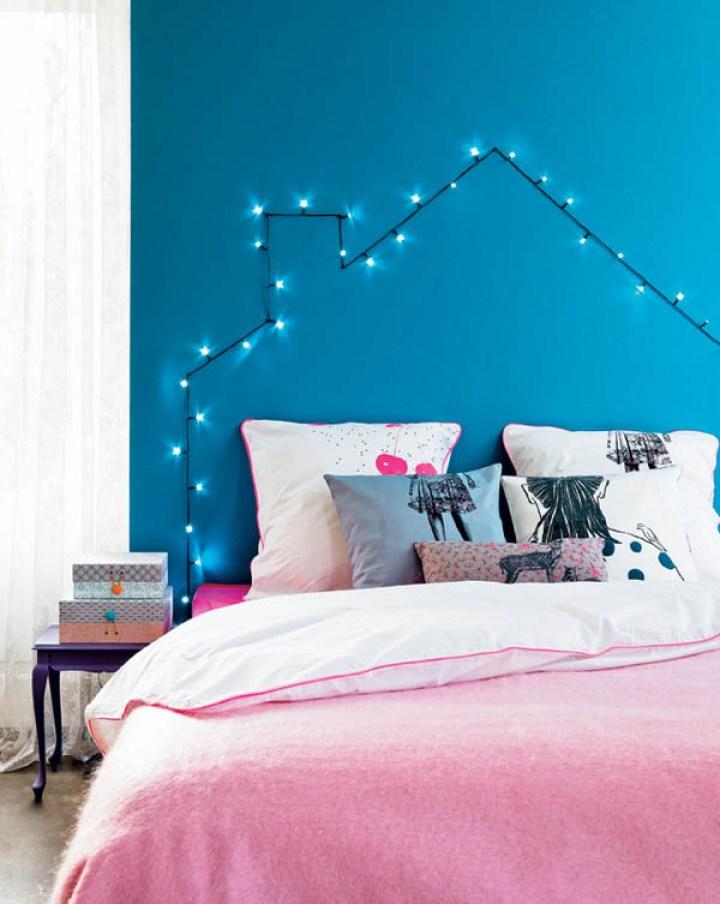 decorar con luces de navidad