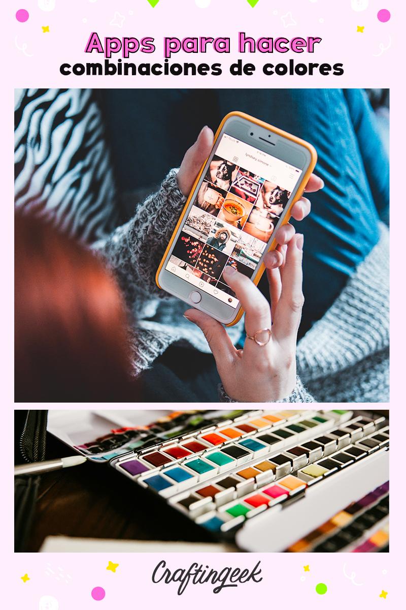 Apps para hacer combinaciones de colores en tu celular