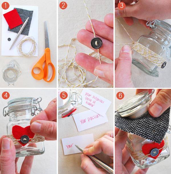 10 manualidades 14 de febrero famosas en Pinterest