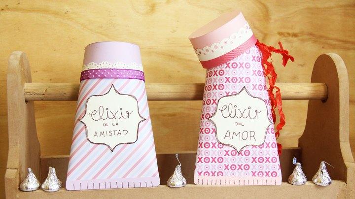 Cajas para regalos originales: Tubo de pasta de dientes fácil
